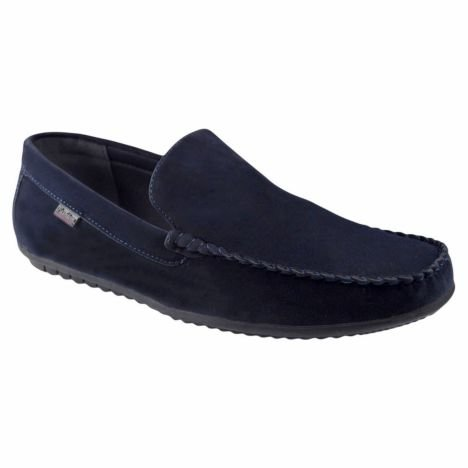 Mocasini barbati bleumarin Fashion